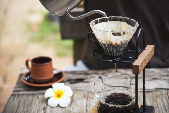 cafetière filtre vintage
